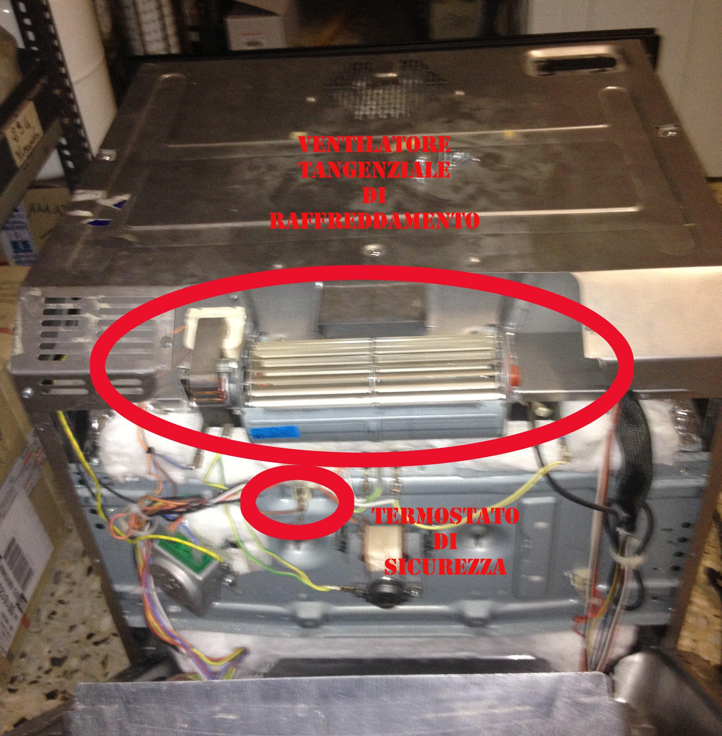 Schema Elettrico Lavastoviglie Hotpoint Ariston : Dettagli forno riparodasolo